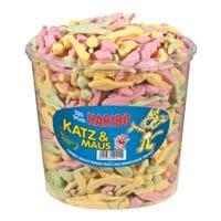 Haribo Schaumzucker-Box »Katz & Maus«