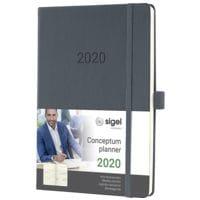 Sigel Wochenkalender »Conceptum 2020 A5«