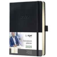 Sigel Wochenkalender »Conceptum 2020 A6«