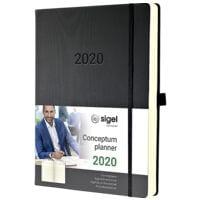 Sigel Terminplaner »Conceptum 2020 A4+«