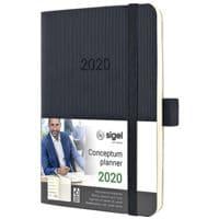 Sigel Wochennotiz-Kalender »Conceptum 2020 A6 Soft«
