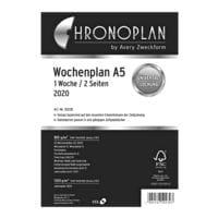 Chronoplan Wochenplan 2020 A5 »1 Woche / 2 Seiten« in Spalten