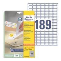 Avery Zweckform 5670er-Pack Universal Klebeetiketten »L4731REV-25«