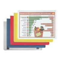 EICHNER 10er Pack magnetische Inforahmen DIN A4 quer