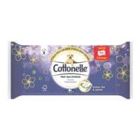 Cottonelle Feuchtes Toilettenpapier Grüner Tee & Jasmin 1-lagig, weiß - 1 x 44 Tücher