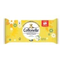 Cottonelle Feuchtes Toilettenpapier 1-lagig, weiß - 1 x 44 Tücher