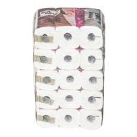 Sanft & Sicher Toilettenpapier Deluxe 5-lagig, weiß - 30 Rollen (5 Pack à 6 Rollen)