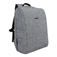 BESTLIFE Laptoprucksack »Travelsafe - Easy Grey«