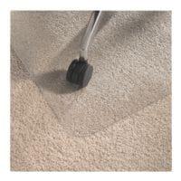 Bodenschutzmatte für Teppichböden, Polycarbonat, Rechteck 89 x 119 cm, OTTO Office