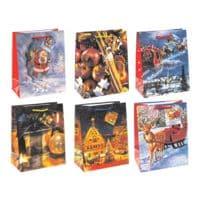 TSI 12er-Set Geschenktüten »Weihnachten«