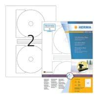 Herma 200er-Pack permanent haftende CD-Etiketten (kleine Öffnung)