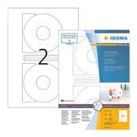 Herma 200er-Pack permanent haftende CD-Etiketten (große Öffnung)