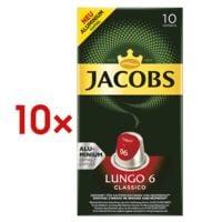Jacobs 10x Kaffeekapseln »Lungo Classico« für Nespresso®
