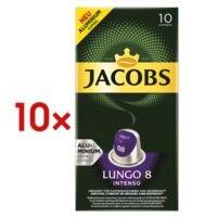 Jacobs 10x Kaffeekapseln »Lungo Intenso« für Nespresso®
