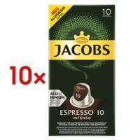 Jacobs 10x Kaffeekapseln »Espresso Intenso« für Nespresso®