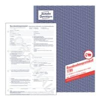 Avery Zweckform Formularbuch Bauabnahmeprotokoll »1785«