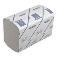 Papierhandtücher Scott XTRA 1-lagig, weiß, 20 cm x 31,5 cm aus Zellstoff, Recyclingpapier mit I-Falzung - 3600 Blatt gesamt
