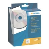 Herma CD/DVD-Leerhüllen - 100 Stück