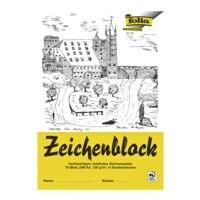 folia 20er-Pack Zeichenblock A4, je 10 Blatt