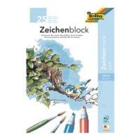 folia 10er-Pack Zeichenblock A3, je 25 Blatt