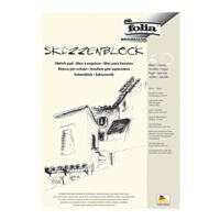 folia 5er-Pack Skizzenblock A4, je 50 Blatt