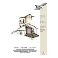 folia 5er-Pack Aquarellblock DIN A3 rau