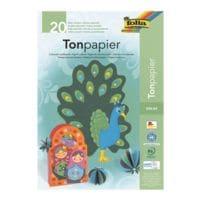 folia Tonpapier - 10 Farben (20 Blatt)
