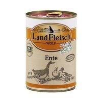 LandFleisch Nassfutter »WOLF« mit Ente (1x 400 g)