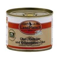 LandFleisch Ergänzungsfutter »WOLF« Pesto Rot (1x 200 g)