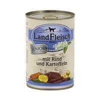 LandFleisch Nassfutter »Senior« mit Rind, Kartoffeln und Frischgemüse (1x 400 g)