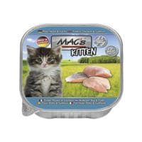 MACs Nassfutter »Kitten« mit Pute, Huhn und Lachs (1 x 85 g)