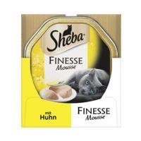 Sheba Nassfutter »Finesse Mousse« mit Huhn (1x 85 g)
