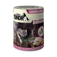 TUNDRA Dog Nassfutter mit Lachs & Huhn (1x 400 g)