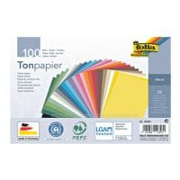 folia Tonpapier - 25 Farben (100 Blatt)