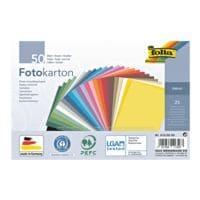 folia Fotokarton - 25 Farben (50 Blatt)