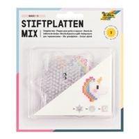 folia 6er-Pack Stiftplatten-Set »Basic klein«