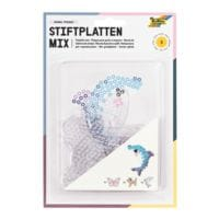 folia 6er-Pack Stiftplatten-Set »Tierwelt«