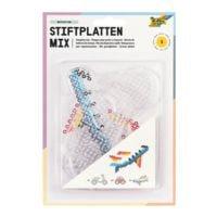 folia 6er-Pack Stiftplatten-Set »Fahrzeuge«