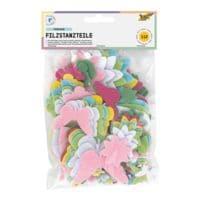 folia 5er-Pack Filzstanzteile »Frühjahr«