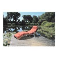 Garden Pleasure Faltbare Sonnenliege mit Auflage »Nassau«