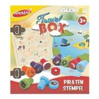 Joustra Travel Box Piraten-Stempel - 9 Stück