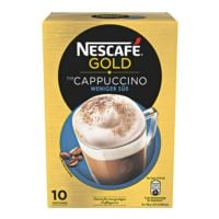 Nestle Löslicher Cappuccino »Nescafé GOLD« weniger süß