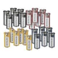 Durable 24er-Pack Schlüsselanhänger »Key Clip«