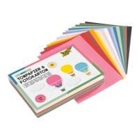 folia Tonpapier und Fotokarton »BASIC« A6 (60 Blatt)