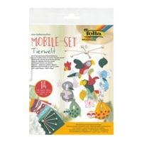 folia 5er-Pack Mobile-Set »Tierwelt«