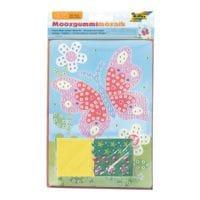 folia 5er-Pack Mosaik-Bilder »Schmetterling«