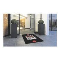 Miltex Motiv-Fußmatte »Abstand halten« 90x150 cm