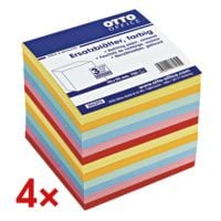 OTTO Office 4er-Set Ersatzblätter farbig