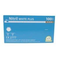 100 Medi-Inn Einmalhandschuhe Nitril puderfrei, Größe XL weiß
