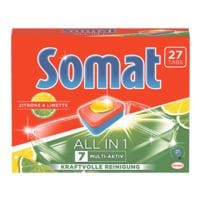 Henkel 27er-Pack Somat Spülmaschinentabs »All in 1 Zitrone & Limette«